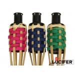 Bambusová pochodeň barevná 150 cm