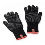 Sada rukavic Weber Premium se silikonem pogumovanou dlaní S/M černá kevlar