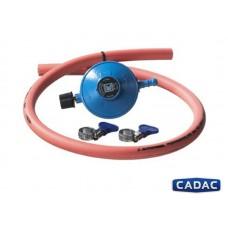 Regulátor tlaku plynu 30 mBar k připojení PB láhve 10 kg