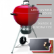 Gril Weber MASTER-TOUCH® GBS 57 cm RED Limited edition + dárek