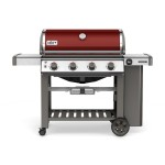 Plynový gril Weber Genesis® II. LX S-410 GBS Red - LIMITED EDITION