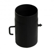 Roura s komínovou klapkou ø 160mm - 0,25m tl.2mm