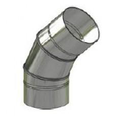 Koleno nerez stálé ø 150 mm / 45°