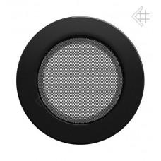 MŘÍŽKA KULATÁ 150 mm černá