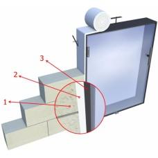 Samolepící izolační papír 30x4mm do 1250°C