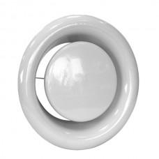 Talířový kovový ventil pro odvod vzduchu pr.80mm