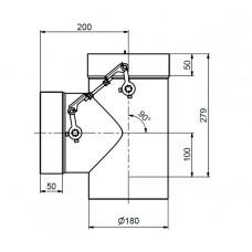 Dvoucestná MORITZ 2mm klapka