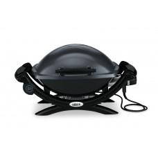 Elektrický gril Weber Q1400 DARK GREY tmavošedý bez postranních poliček