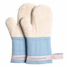 Kuchyňské rukavice Premium modré (pár)