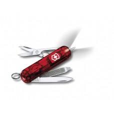 VICTORINOX kapesní nůž SIGNATURE LITE RUBY červený průhledný