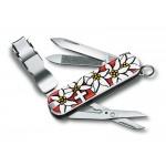 VICTORINOX kapesní nůž NAIL CLIP 580 edelweiss