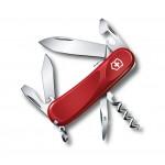 VICTORINOX kapesní nůž EVOGRIP S101 s pojistkou červený