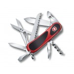 VICTORINOX kapesní nůž EVOGRIP S 17 červeno černý
