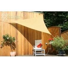 Trojúhelníková sluneční plachta stínící 300x300x300 cm okrová